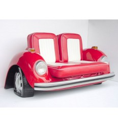 V-CAR RED COUCH