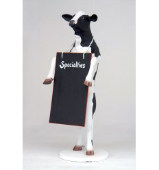 REPLICAS OF COWS - COW WITH BLACKBOARD