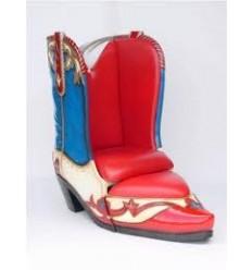 DECORATIVE SEATS - SEAT COWBOY BOOT