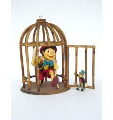 BOY IN CAGE