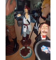 PIRATE WITH FLAG - 4FT.