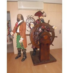 PIRATE WITH RUDDER