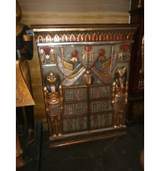 EGYPTIAN CABINET WITH TWO DOORS