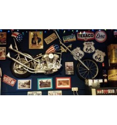 Chopper Wall Decor - 6ft
