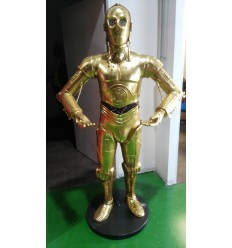 C3PO ROBOT WITH TRAY