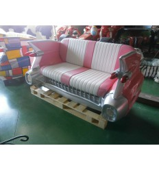 C-CAR PINK COUCH
