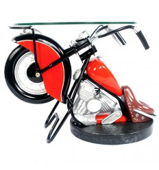 VINTAGE BIKE SIDE TABLE