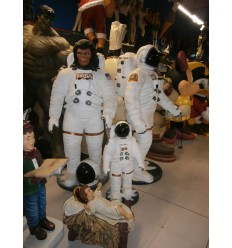 REPLICA SIMIO ASTRONAUTA