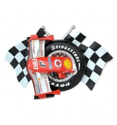 CHECKERED FLAGS WITH FRR F1 NOSE CO