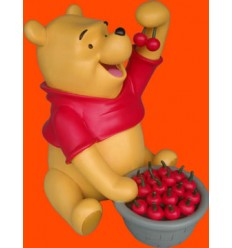 WINNIE THE POOH WITH CHERRIES