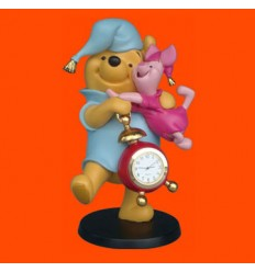 WINNIE AND PIGLET WITH CLOCK