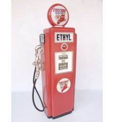 GAS PUMP CABINET (RED) - SMALL