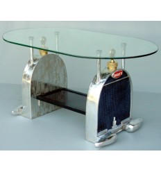 B-CAR CENTER TABLE (INCLUDING GLASS)