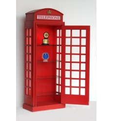 (20 EXC) TELEPHONE BOOTH HALF DISPLAY SH