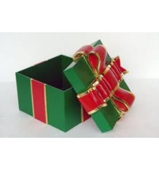 (20 EXC) GIFT BOX WITH RED RIBBON