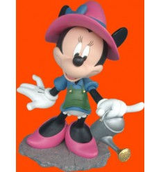 FIGURA MINNIE CON REGADERA