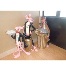 STATUE PINK PANTHER UMBRELLA STAND