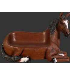 ANIMAL HORSE SEAT OUTDDOR