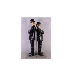 FIGURAS DE HOLLYWOOD - BLUES BROTHERS DE PIE