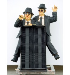 'BLUES BROTHERS CON PORTA CD''S'