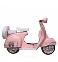 WALL DECOR SCOOTER PINK