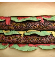 HAMBURGUESA DOBLE 80 CMS