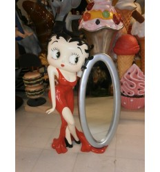 BETTY BOOP WITH MIRROR