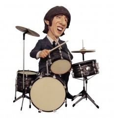 FIGURA RINGO STARR THE BEATLES