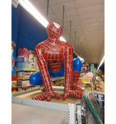 SPIDERMAN ARRODILLADO