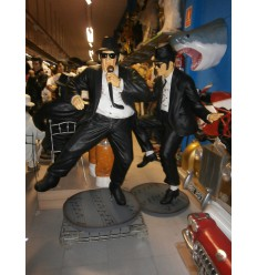 ESTATUA BLUES BROTHERS BAILANDO