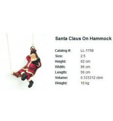 SANTA ON HAMMOC