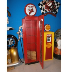 GAS PUMP DISPLAY SHELF (Red)