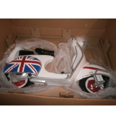 WALL DECOR SCOOTER UNION JACK