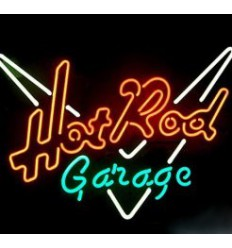 CARTEL NEON HOT ROD GARAGE