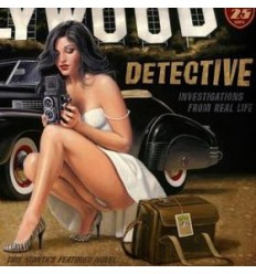 CARTEL METALICO HOLLYWOOD 90 CMS